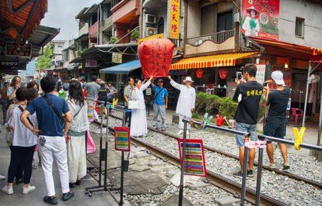 Shifen Old Street - Sky Lantern